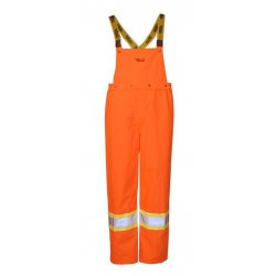 Alliance Mercantile - U6330PO L - Journeyman 300d Rain Bib Or, Ea
