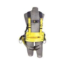 Capital Safety - 1000570 - DBI/SALA Universal ExoFit Adjustable Polyester And Nylon Derrick Belt With Pass Thru Buckles, Positioning D-Rings And Suspension Straps, ( Each )