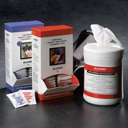 Allegro - 5001 - Respirator Antimicrobial Wipes 6 In Wx7.5 In L Allegro, Ea