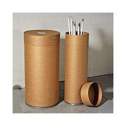 Basco - FFL10 - Recycling Drum 48 1/8x15 1/2 Fiberboard, Ea
