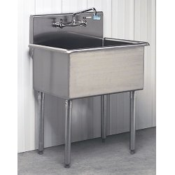 Advance Tabco - 45383 - Multi-wash Hand Sink 1 Person Advance Tabco 304 Stainless Steel 33 In Hx24 1/2 In Wx27 In L, Ea