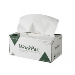 Cascades - 35318 - WorkPac* All-Purpose Wipes, 2-ply, dispenser box - 18/cs