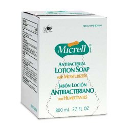 Gojo - GOJ 9756-06 - Micrell Antibacterial Lotion Soap - (6 Case Qty.)