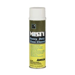 Amrep / Misty - AMR A124-20 - Misty Lemom Heavy-Duty Glass Cleaner - 19-Oz. Aerosol (12 Case Qty.)