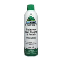 Amrep / Misty - AMR A146-20 - Misty Aspire? Stainless Steel Cleaner & Polish - Aerosol (12 Case Qty.)