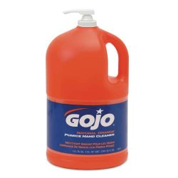 Gojo - GOJ 0955-04 - Gojo Natural* Orange? Pumice Hand Cleaner (Lotion), CS