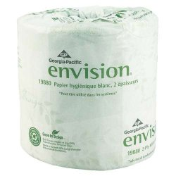 Georgia Pacific - GPC 198-80/01 - Envision Bathroom Tissue - 550 Sheets Per Roll. 80 Rolls Per Case