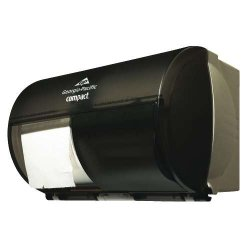 Georgia Pacific - GPC 567-84 - Compact Side-By-Side Double Roll Coreless High Capacity Dispenser, EA