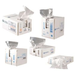 Inteplast - IBS BP21635 - Poly Bags - 1 Pan. 21W X 6G X 35L. 19 Micron., CS