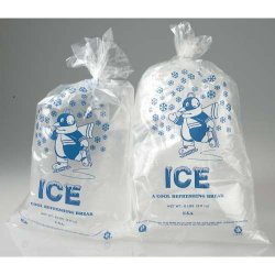 Inteplast - IBS IC1221 - Ice Bags With Twist Ties - 10-Lbs. Capacity 12W X 21L (1, 000 Case Qty.)
