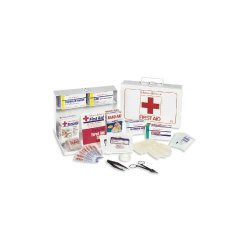 Johnson & Johnson - JON 8161 - Nonmedicinal First Aid Kit, For Up To 25 People, EA