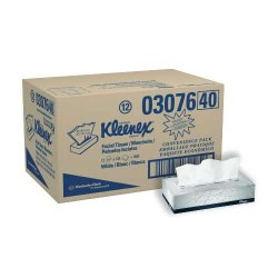 Kimberly-Clark - KCC 21400 - Kleenex Facial Tissue - 100 Tissues Per Box (36 Boxes Per Case)