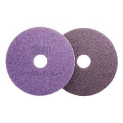 "3M - MCO 47951 - Scotch-Brite? Purple Diamond Floor Pads - 17"" Pad Dia (5 Case Qty.)"