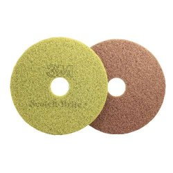 "3M - MCO 48194 - Scotch-Brite? Sienna Diamond Floor Pads - 13"" Pad Dia (5 Case Qty.)"