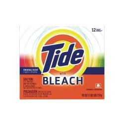 Procter & Gamble - PGC 42282 - Tide Laundry Detergent With Bleach - 214-Oz. Box (2 Case Qty.)