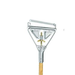 Unisan - UNS 605 - Quick Change Handle - 1 1/8 Dia., 63 Janitor Overall Length, Fits Mop Heads #20 And Up, EA