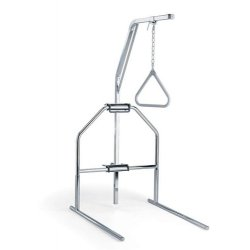 Medline - MDS80615T - Medline Offset Fixed Trapeze - Steel - Chrome