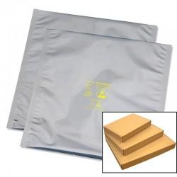Desco - 13344 - Statshield Metal-In Boxed Bag, 4 x 4, 100 EA/PK