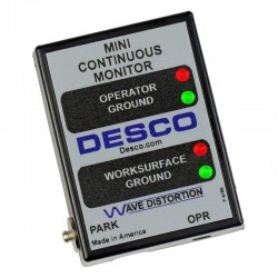 Desco - 19239 - Mini Continuous Monitor with North American Plug