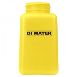 Menda / Desco - 35515 - Bottle Only, Durastatic, Yellow, 6 Oz, Printed ''di Water''