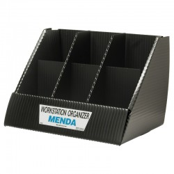 Menda / Desco - 35874 - Workstation Organizer Box, 6 Cells