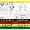 Evacuaid - CT-601 - EVACU-AID Triage Tags 50-Pack