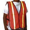 Other - EM-503 - Orange Safety Vest w/ Reflective Stripes