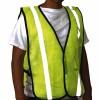 Other - EM-516 - Yellow Safety Vest w/ Reflective Stripes