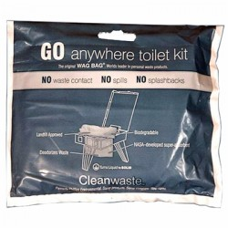 Cleanwaste - EM-461-C - Cleanwaste ''Go-Anywhere'' Toilet Kit Case-100
