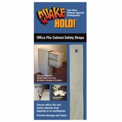 Ready America - EP-104 - QuakeHold. Office File Cabinet Strap