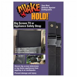 Ready America - EP-109 - QuakeHold. Big Screen & Appliance Strap
