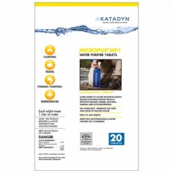 Katadyn - WP-140 - Micropur Water Purification Tablets 20-Pack
