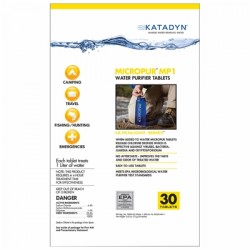 Katadyn - WP-141 - Micropur Water Purification Tablets 30-Pack