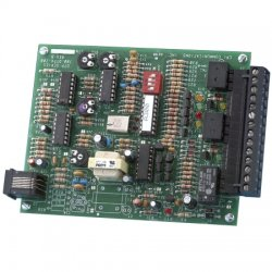 CPI Comm - DTP2-C-4W/FD - Black 4 Wire DC Termination Panel with Monitor