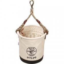 Klein Tools - 5172-PS - Klein 5172PS Heavy-Duty Tapered-Wall Bucket - 15 Inside Pockets