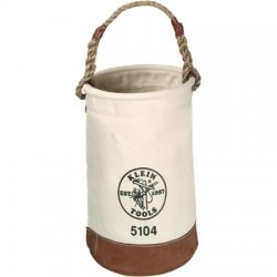 Klein Tools - 5104 - Bucket Leahter Bottom Klein Tools No. 1 17 Hx12 D Canvas, Ea
