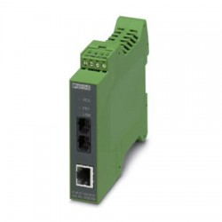 Phoenix Contact - 2902856 - FO converter with SC duplex fiber optic connection