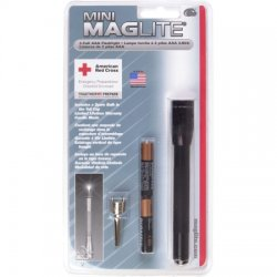 MagLite - M3A756K - Xenon Penlight, Aluminum, Maximum Lumens Output: 9, Black, 5.00