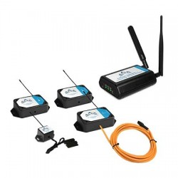 Monnit - MNK2-9-CG-ITS-ATT - ALTA IT Server Room Monitoring Kit ATT 900MHz