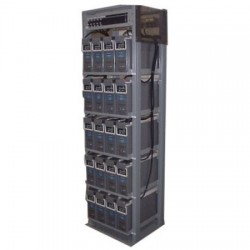 Carber Power Technologies - IFR4501AVR48200 - 4 Post 5 Shelf Battery Rack, Seismic
