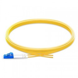 Corning - 000424G8120005M - Pigtail/ LCUPC Duplex SM, 24 F, MIC Riser, 5m