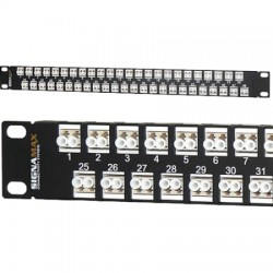 Signamax / AESP - 48HD1LC-FT - 96-Fiber (48P-Duplex) High-Density LC MM Panel