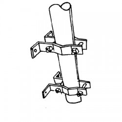 RFS - PD241 - Universal.Clamp Set, Wall, UPS Shippable