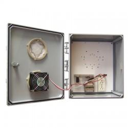 Ventev - V141206L06HC - 14x12x6 Polycarbonate Heated/Cooled NEMA3R Encl