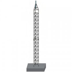 Rohn Products - 55SS055 - 55G Self-Supporting Tower Kit, NI, 55'