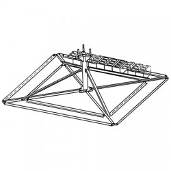 Rohn Products - 25GBRM - Ballast Mount for 25G Towers