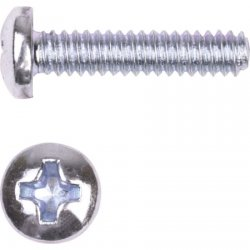 Wireless Solutions - 8C75MXPSZ/B2.5C - #8-32x3/4 Machine screw zinc/ 250pack