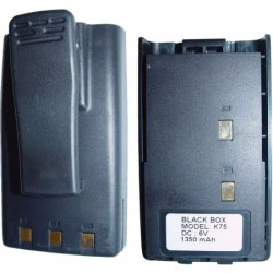Klein Electronics - BLACKBOX-HCB - Klein BLACKBOX-HCB Radio Battery - 1350 mAh - Nickel Metal Hydride (NiMH)