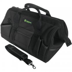 Greenlee / Textron - 0158-11 - Greenlee 0158-11 16 Pocket Electrician's Canvas Bag - HxWxD: 20 x 12 x 10