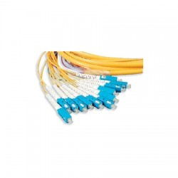 Cables Unlimited - 22D02201SM003M - 3m OS2 Duplex LC/UPC - LC/UPC Patch Cord